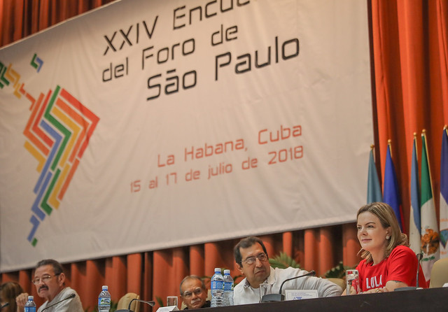 Leaders from 20 Latin American and Caribbean countries attended the 24th Meeting of the São Paulo Forum in Havana, Cuba - Créditos: Ricardo Stuckert
