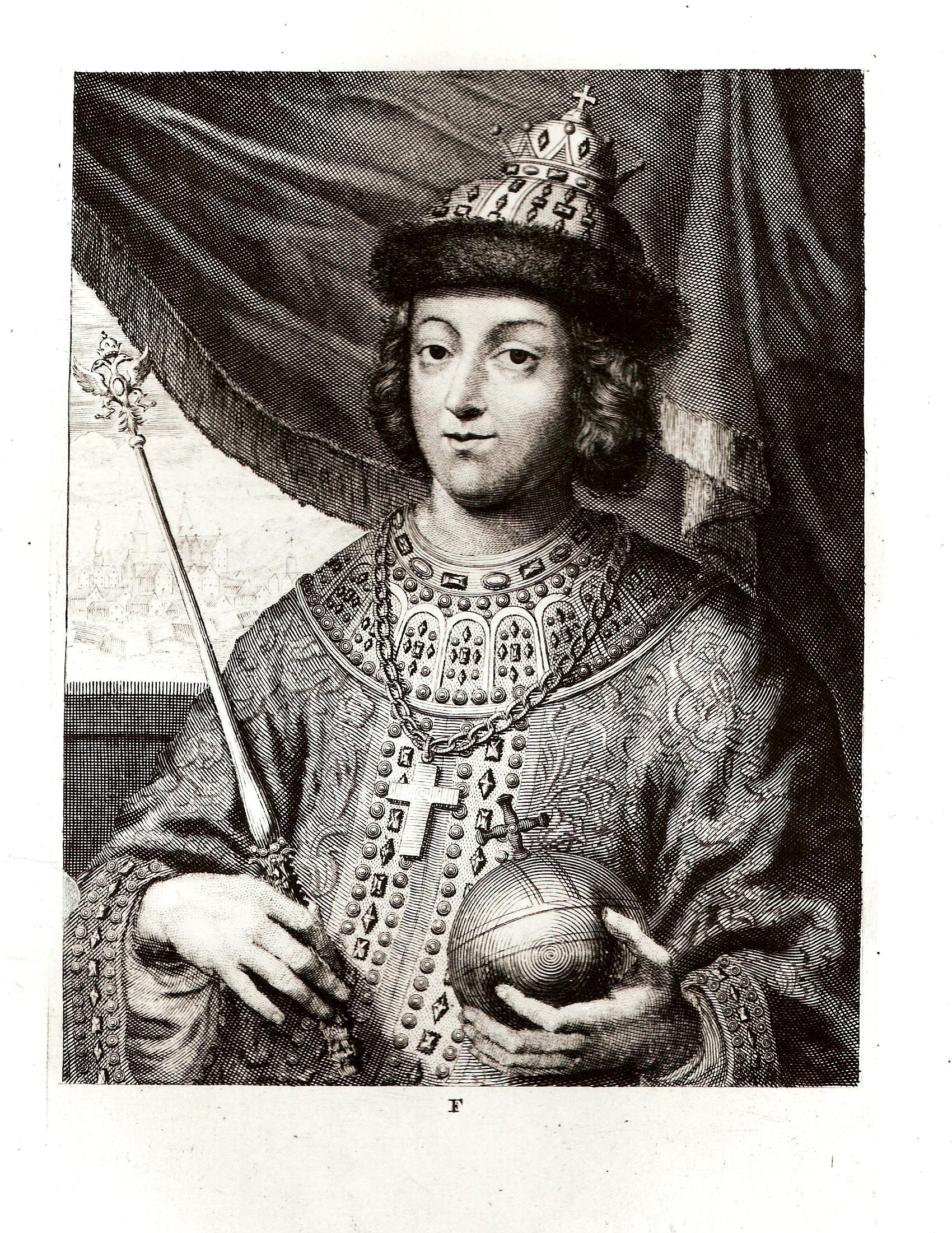 Официальный портрет русского царя