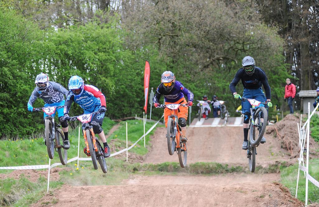 HSBC British Cycling 4x Series Round 2, Harthill, Cheshire, ENGLAND