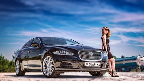 Car and model Kristina (2)
