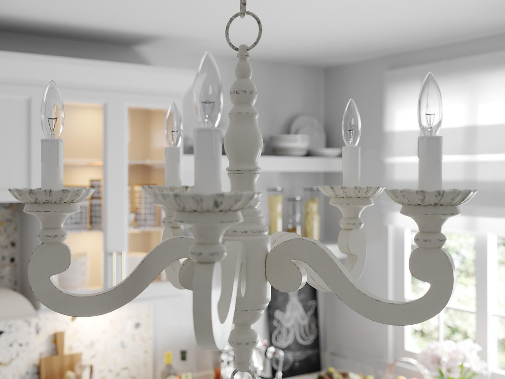 Trinity CGI Kitchen Render Close up