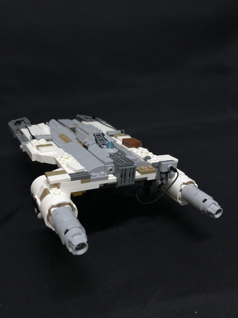 Lego Ryder Azadi's U-Wing Rear