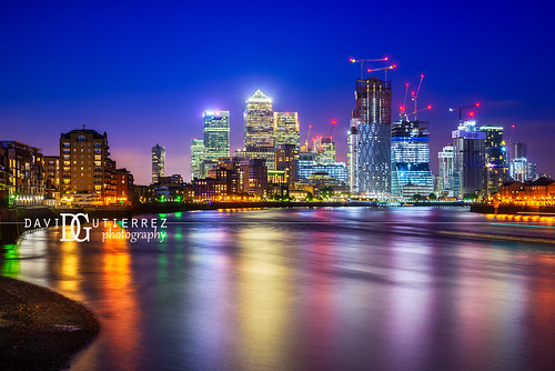 Skyline - Canary Wharf, London, UK