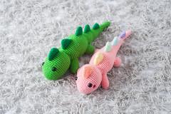 Lazy T-Rex Dinosaur Amigurumi