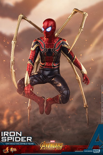 Hot Toys – MMS482 – 《復仇者聯盟:無限之戰》1/6 比例 鋼鐵蜘蛛 Avengers: Infinity War Iron Spider