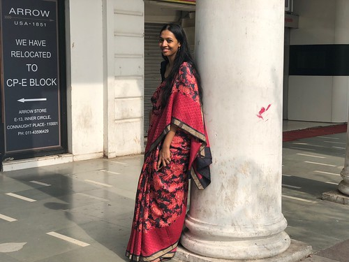 Delhi's Bandaged Heart – Pallavi Barnwal, Connaught Place