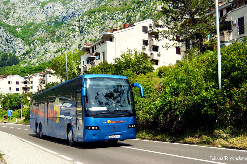Междугородний автобус в Рисане