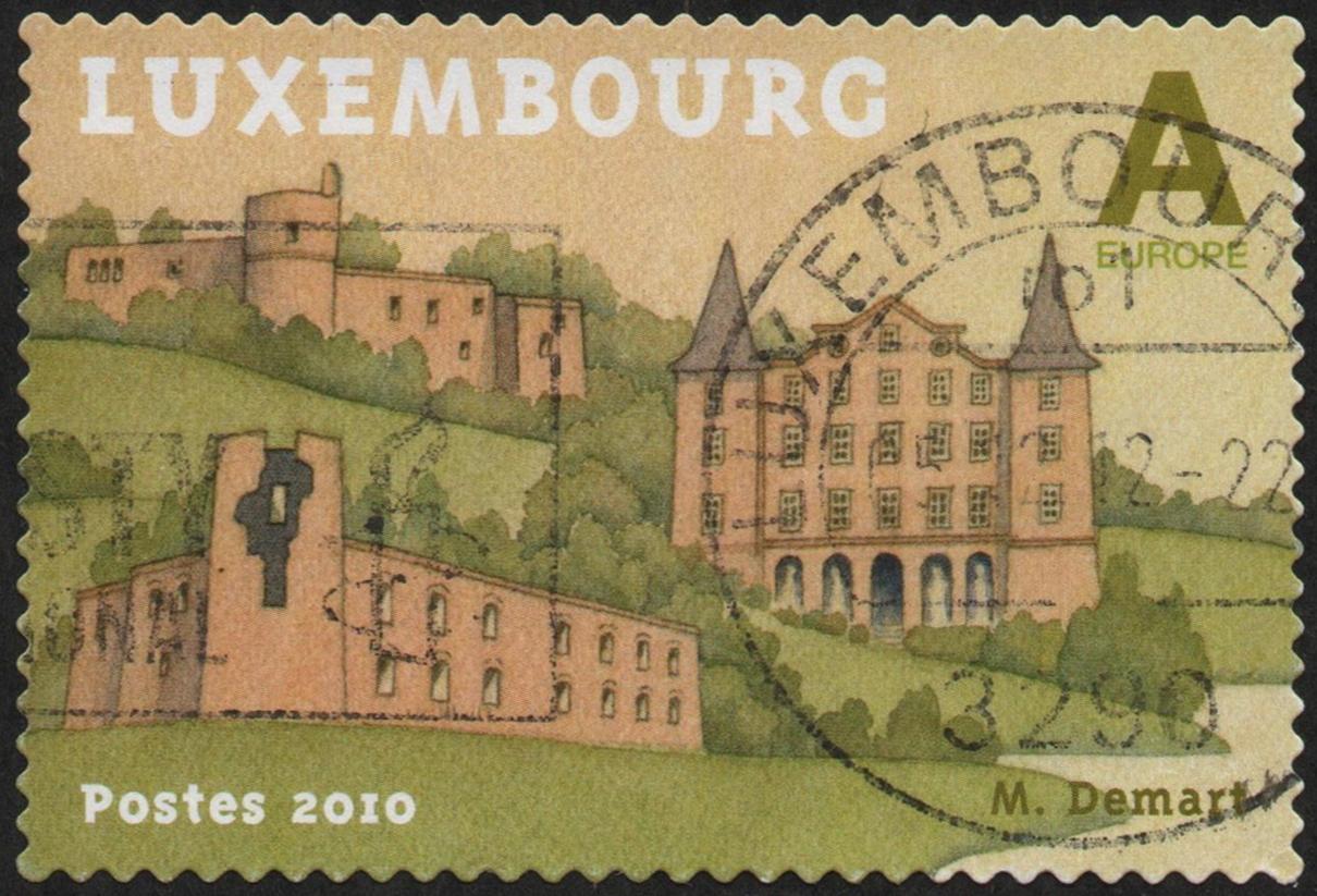Luxembourg - Scott #1286a (2010)