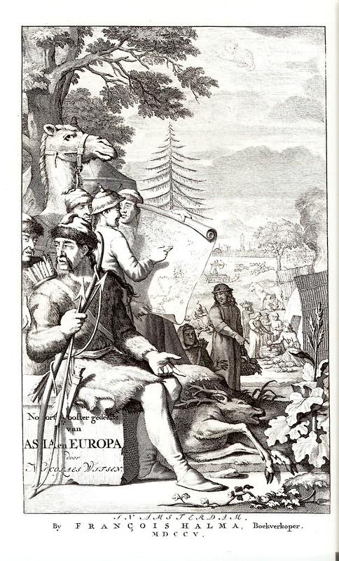 1682. Н.Витсен. «Северная и Восточная Тартария»
