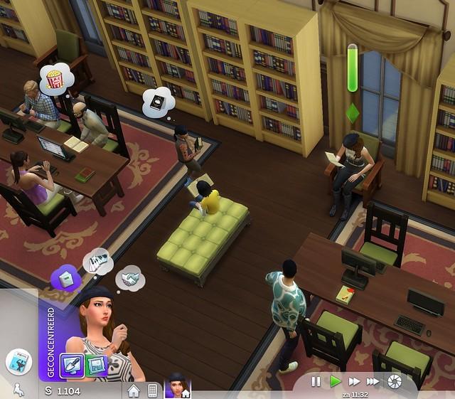 Schermafdruk Sims 4