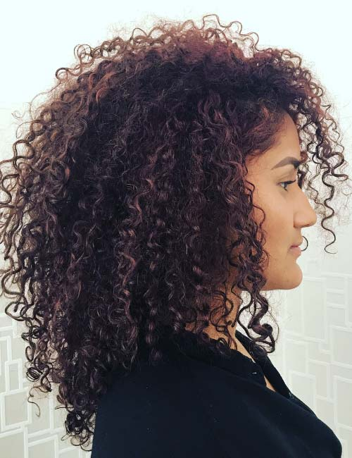 Adorable Layered Curly Hairstyles For Great Style |2018 4