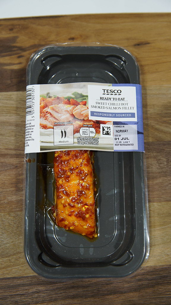 Sweet Chilli Hot Smoked Salmon - Single serving