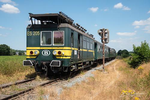 ES 205 te Sint-Amands 2018-07-08