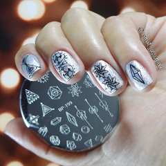 Nail art com Born Pretty