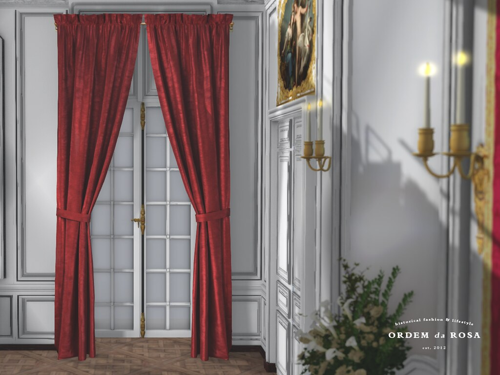 Ordem da Rosa – Antique Cupped Drapes