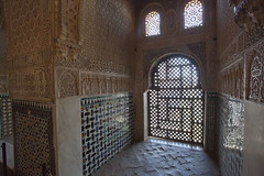 Chamber of the Ambassadors. The Alhambra