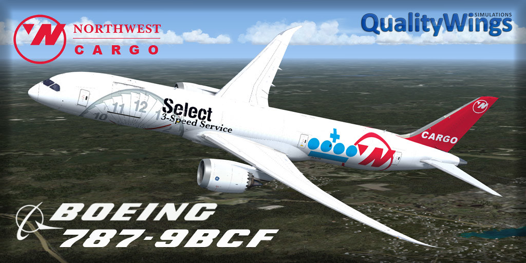 787-9 Freighter Liveries - QualityWings Simulations Forum