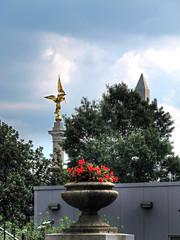 First Division and Washington Monuments-Washington DC 9007