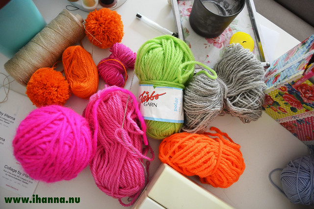 Yarn from the stash - Photo by Studio iHanna / Hanna Andersson, Sweden (copyright)