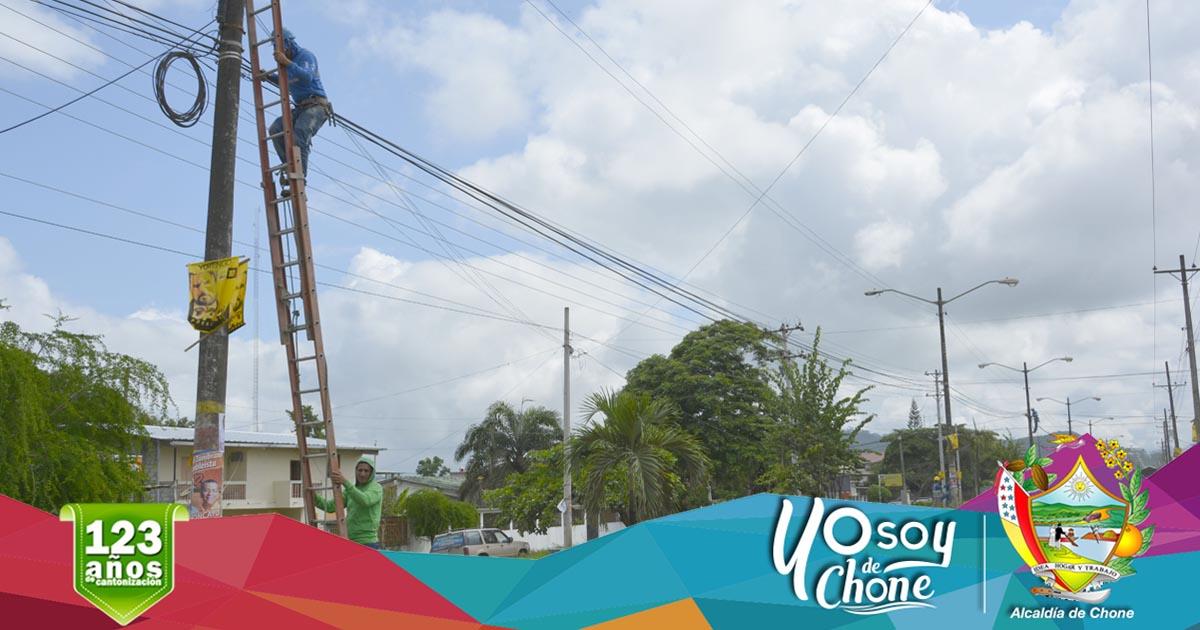 CNEL realizará mantenimiento en Avenida Carlos Alberto Aray #Chone