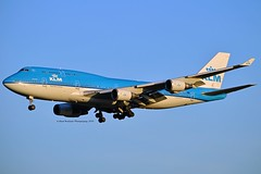 City of Guayaquill KLM Royal Dutch Airlines PH-BFG Boeing 747-406 cn/2