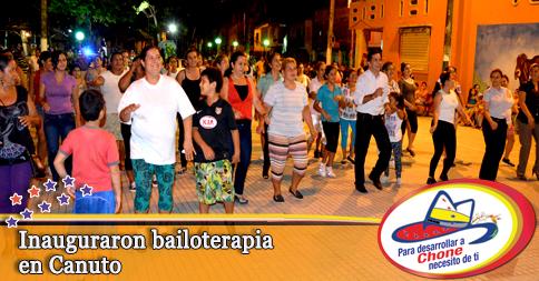 Inauguraron bailo terapia en Canuto