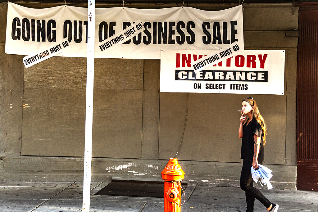 GOING OUT OF BUSINESS SALE--Italian Market
