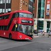 London Sovereign, Harrow, Volvo Hybrid VHR45207 LJ66EZT on Route 183 from Pinner to Golders Green at Harrow Bus Station on Saturday 21 July 2018