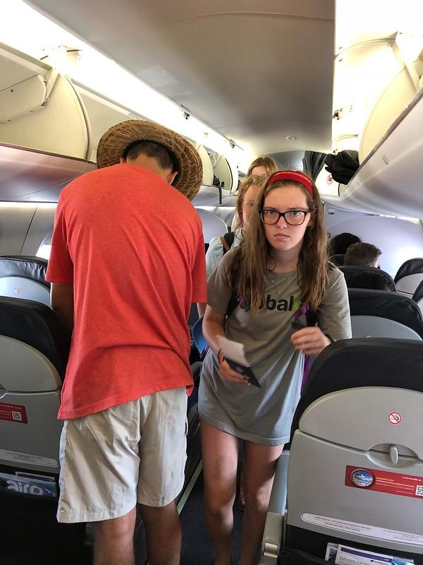 Boarding in Merida