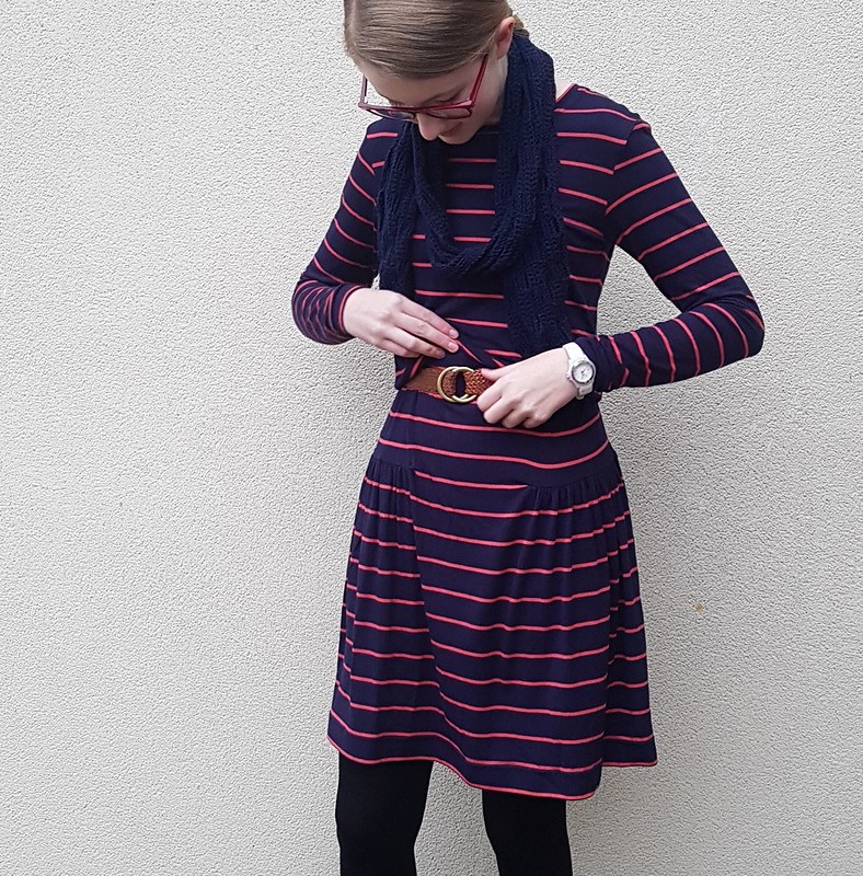Style Arc Tallulah dress in soft viscose knit from Super Cheap Fabrics