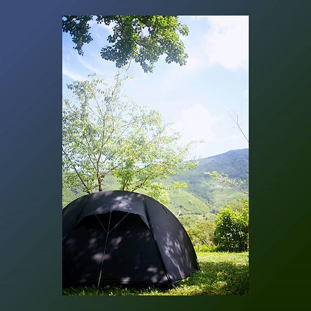 20180708 經歷昨天一下午的雨 今天依然乾收 覺得滿足😍 謝謝好友們的陪伴 (手比愛心) #歐北露 #camping #campinglife #ilovecamping