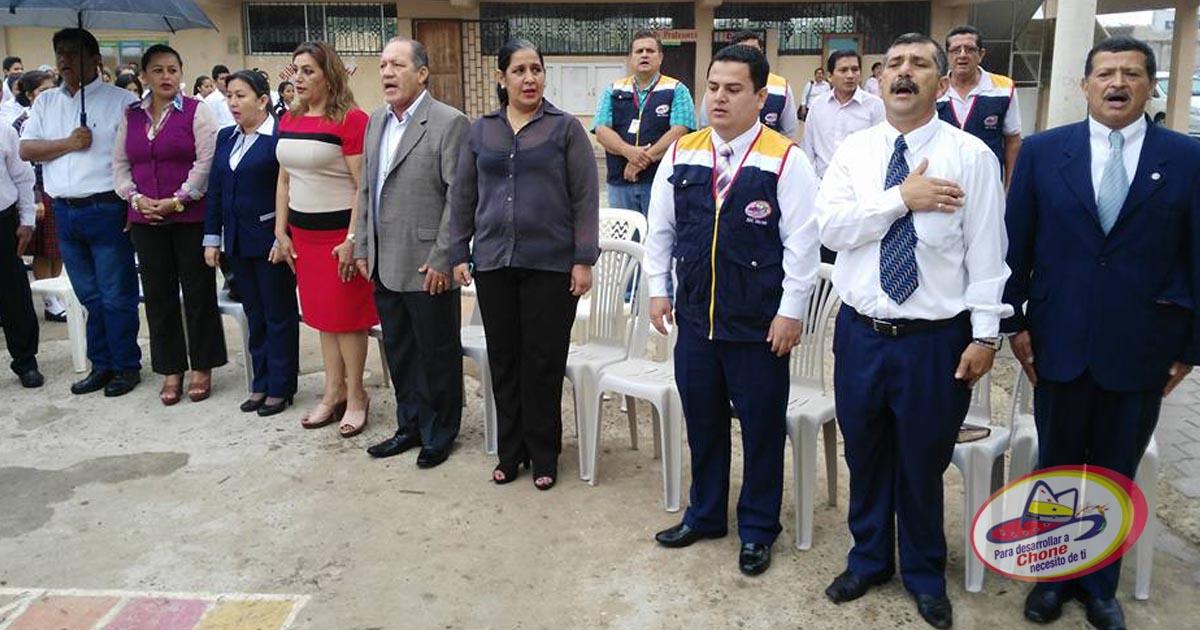 Hora Cívica en UE San Cayetano con el tema Día Internacional de la Paz