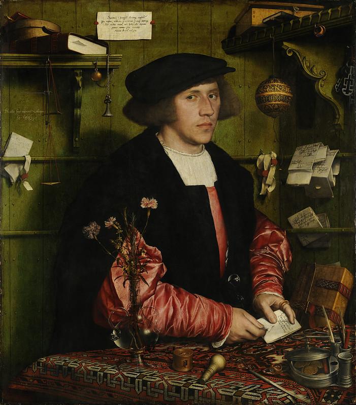 Hans Holbein der Jüngere - Der Kaufmann Georg Gisze (1532)