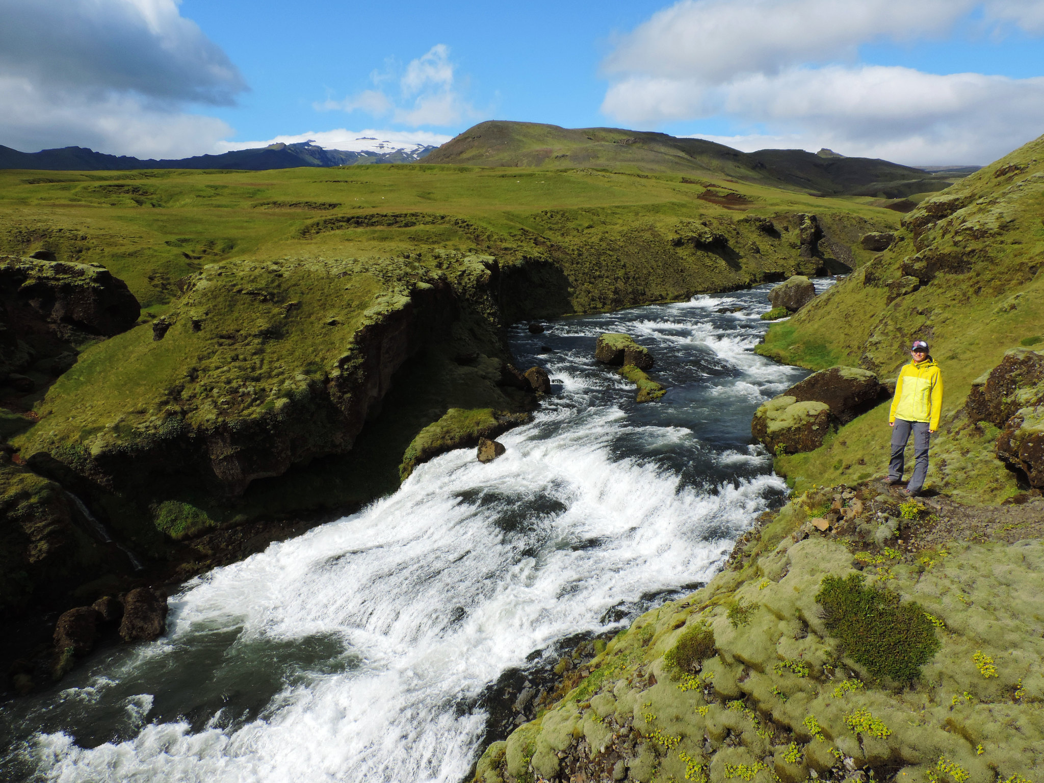Iceland On Budget: Hiking in Skógar Valley, Southern Iceland