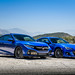 Subaru BRZ on TSW Nurburgring rotary forged gunmetal wheels - Honda Civic Si Coupe on TSW Mallory