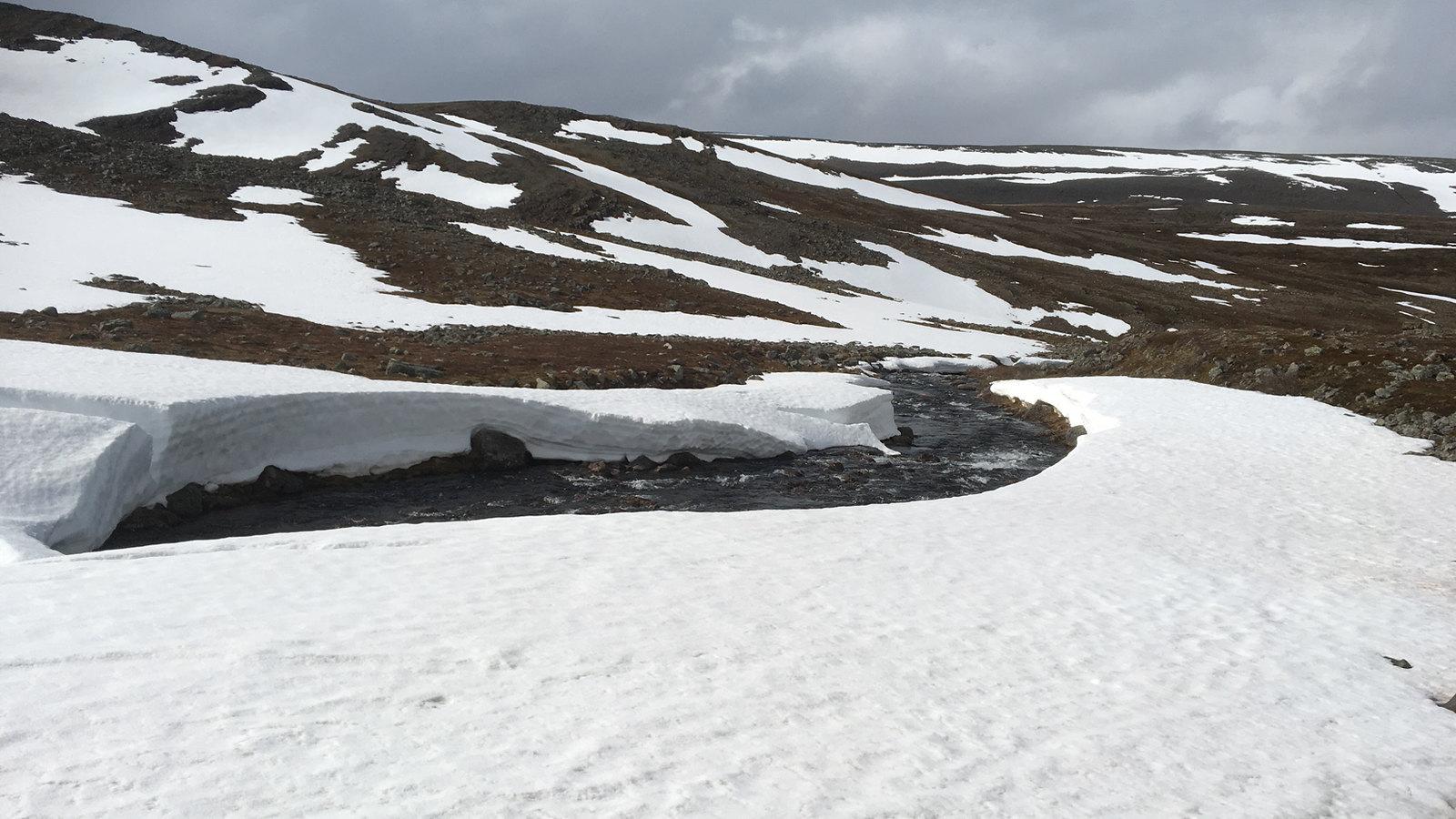 Varanger - snow and ice