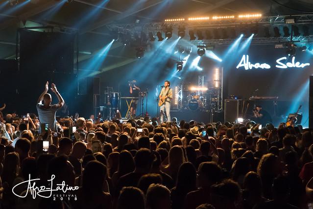 Alvaro Soler @ Afro-Latino Festival 2018.