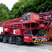 R287 SEL - Spierings SK477-AT4 - 4 axle 7 ton Mobile tower crane - DM Cranes, Ricall, York, North Yorkshire.