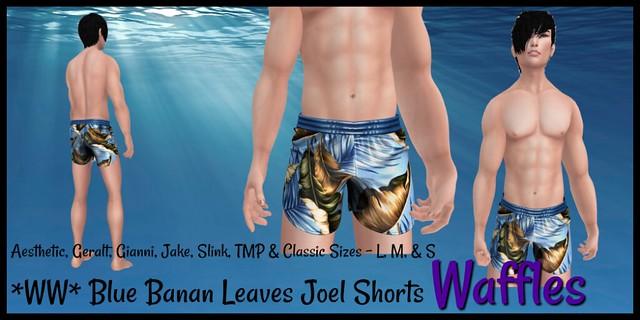 WW Blue Banan Leaves Joel Shorts1024