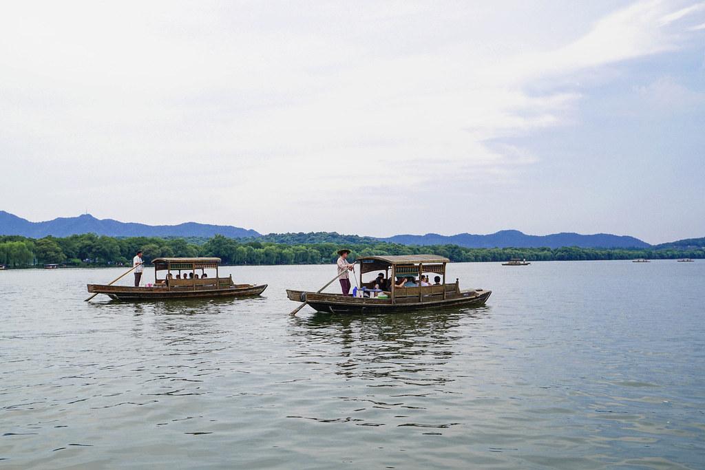 西湖遊船1
