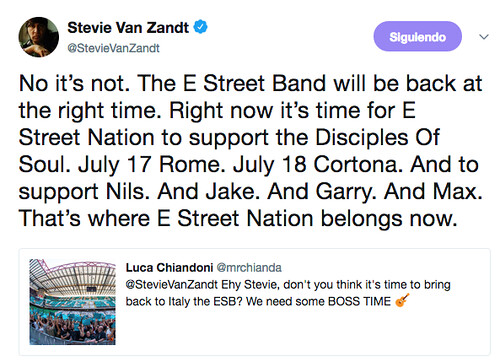 Tuit Stevie Van Zandt