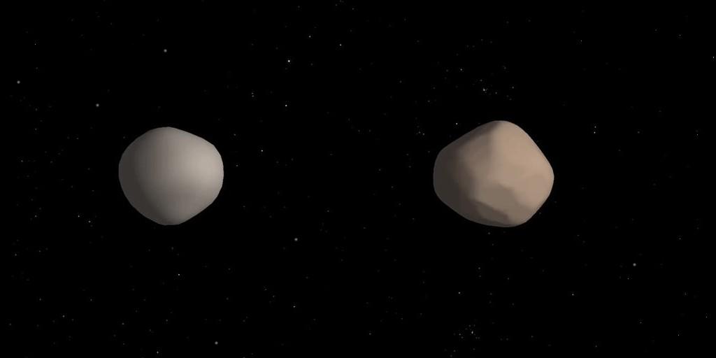 Un astéroïde binaire est passé près de la Terre