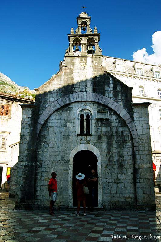 Церковь  Св. Луки в Которе