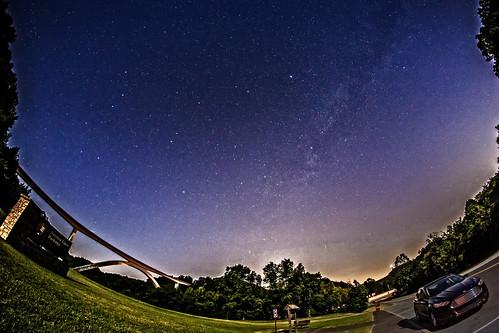 milkyway nacheztraceparkway night sky fisheye rokinon12mm eos6d