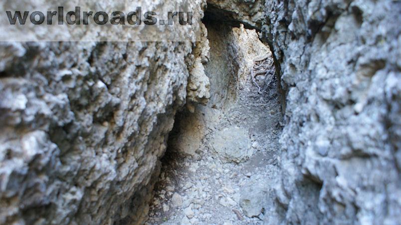 Караул-Оба Каменный лабиринт