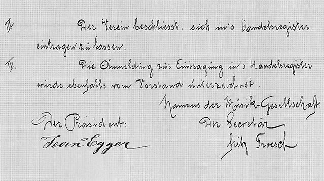 1893 Gründungsversammlung