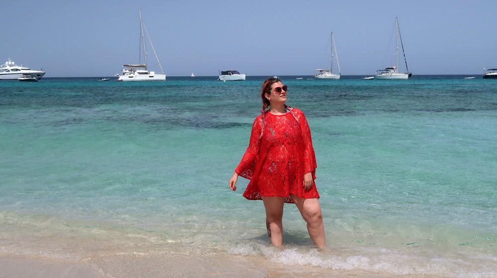 Outfit mare curvy plus size, copricostume Lily La tigresse (8)