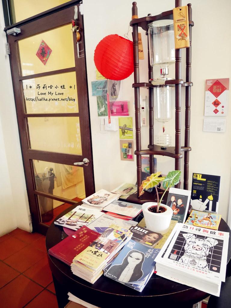 台北迪化街老屋爐鍋咖啡 Luguo Cafe小藝埕artyard (10)