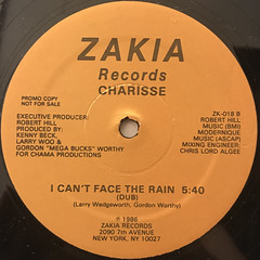 CHARISSE:I CAN'T STAND THE RAIN(LABEL SIDE-B)