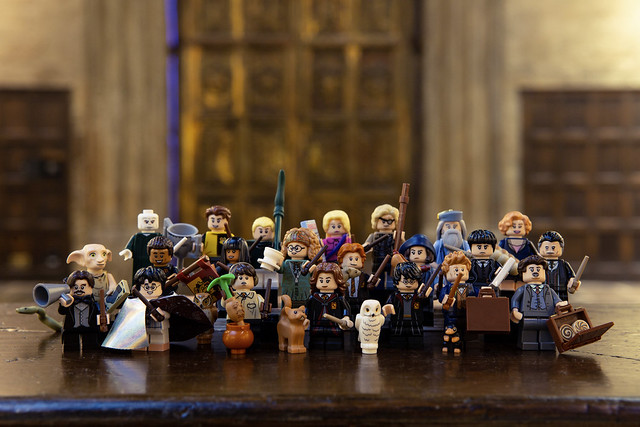 LEGO Wizarding World minifigures (2)